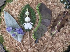 I love when Kris finds materials in our urban park to play with. Kristine Kratt AIFD, PFCI Boutonnières & Corsages