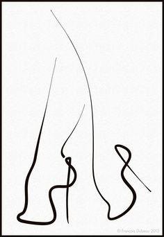 Les souliers by Francois Dubeau