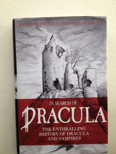 """""""In Search of Dracula - History of Dracula and Vampires"""" av Raymond T. McNally - 'Sakprosa' Non-Fiction - Finished June Bingo Cards, Reading Challenge, Juni, Dracula, Nonfiction, Literature, September, History, Search"""