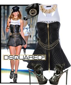 """""""Dsquared2 Spring 2013"""" by kmp11 ❤ liked on Polyvore"""