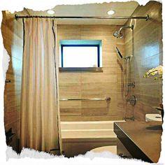 #ODJECHANAłazienka W Hotel, Curtains, Retro, Home Decor, Blinds, Decoration Home, Room Decor, Draping, Retro Illustration