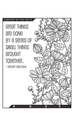 Coloring Book - We Rise by Lifting Others: Coloring Book for ...