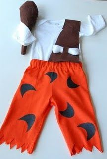Well, I finally finished two Halloween costumes today - Pebbles and Bam Bam. They are for the darling brother and sister that I wa...