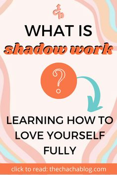 Shadow work is an excellent way to love yourself on a deeper level through self-healing and care. Click to learn more. How to do shadow work, shadow work journal prompts, what is shadow work, spiritual journey shadow work, personal development, how to love yourself, ultimate self care, self discovery activities, personal development plan, self improvement tips Mental Health Blogs, Mental And Emotional Health, Work Journal, Journal Prompts, How To Handle Anxiety, Spiritual Manifestation, Life Coaching Tools, Inspirational Blogs, Anxiety Tips