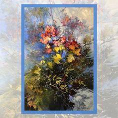 Hydrangea, Vibrant, Colours, Floral, Flowers, Painting, Instagram, Art, Art Background
