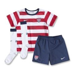 USA 12/14 Little Boys Home Soccer Kit - WorldSoccerShop.com - Elijah
