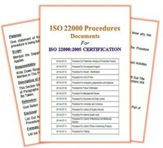 Iso  Manual Document Kit Covers Sample Copy Of Iso