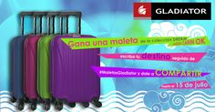 Cuéntanos dónde vas de viaje este verano y llévate una maleta GLADIATOR- (hazte fan en facebook)