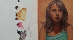 Pintar con veladuras 3. Retrato. Técnica grandes maestros. Curso de pint...