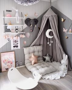 If you've been searching for some inspo to create the perfect reading nook for your child (and you), we've got you covered! inspired room decor Create the perfect reading nook for your child with 6 simple steps Baby Bedroom, Nursery Room, Girls Bedroom, Nursery Decor, Nursery Ideas, Rustic Nursery, Woodland Nursery, Nursery Furniture, Fairy Nursery