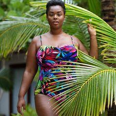 b7e688831ca9 205 Best Plus size swimwear images in 2017 | Plus size swimsuits ...