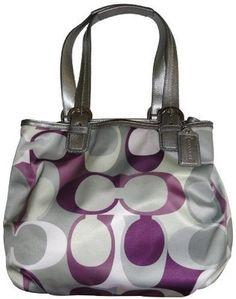 Amazon.com: Women's Coach Purse Handbag Soho Signature Scarf... - Polyvore