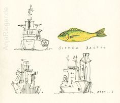 Fish on Friday #AnjaRieger #fish #drawing