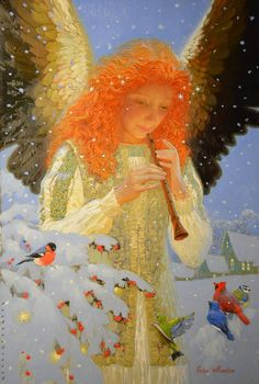 What is Your Painting Style? How do you find your own painting style? What is your painting style? Christmas Angels, Christmas Art, Victor Nizovtsev, I Believe In Angels, Ange Demon, Angels Among Us, Angel Pictures, Angel Images, Angels In Heaven