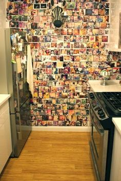 This would be fun with a polaroid camera and take pics of friends and parties