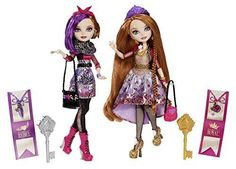 Ever-After-High-O-Hair-Holly-Poppy-Doll-2-Pack-And-Rapunzel-Spring-Set-Brand-NEW