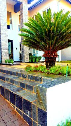 Landscaping, Garage Doors, Sidewalk, Gardens, Outdoor Decor, Home Decor, Decoration Home, Room Decor, Side Walkway