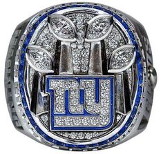Super Bowl XLVI 2011 New York Giants Championship Ring The ring is beautiful and unique. The perfect gift idea for any NFL football fan! New York Giants Football, My Giants, Nfl Football, Nfl Superbowl, Football Rings, Baseball, Football Season, Nfl Championship Rings, Super Bowl Rings