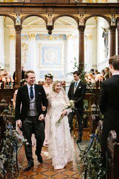 La boda de Marina y David en Babington House (Soho House) © Retrato de un Instante