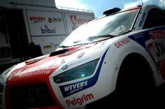Riwald Dakar Mitsubishi Lancer at the Son's Dakar Festival last weekend.