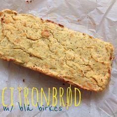 lidt om alt - og meget om mad: citronbrød med blå birkes