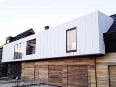 Pannello composito in alluminio ALUCOBOND® urban By Composites Interior Cladding, House Cladding, Metal Cladding, Facade Design, Exterior Design, House Design, Alucobond Cladding, Zinc Roof, Metal Roof