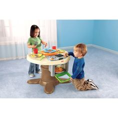 Fisher-Price Servin' Surprises Kitchen and Table - Walmart.com