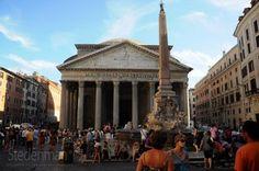 Het Pantheon in Rome is het best bewaard gebleven monument uit de Romeinse oudheid (foto Dennis Faro)
