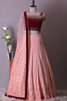 Wedding Dresses Men Indian, Indian Gowns Dresses, Indian Fashion Dresses, Indian Designer Outfits, Bridal Dresses, Designer Dresses, Indian Outfits, Stylish Blouse Design, Stylish Dress Designs