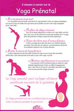 5 choses que toute femme enceinte devrait savoir sur le Yoga Prénatal