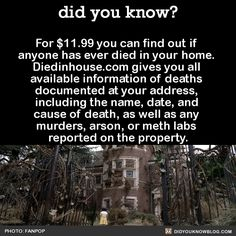 In most states, a death, suicide, or murder in the home does not have to be disclosed by the seller. Source
