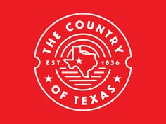 The Country of Texas Logo by Redneck SuperheroThe Country of Texas Line Logo…
