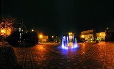 Fontanna w centrum Radlina (Foto: Marek Gajda)