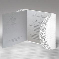 Lézervágott meghívó - 1218 - Lézervágott esküvői meghívó - Esküvői meghívók - Webáruház - Esküvői meghívó készítés