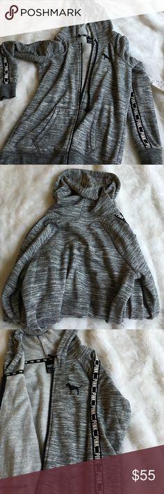 Hoodie Victoria secret 65% cotton hoodie. Runs slightly large Victoria's Secret Jackets & Coats