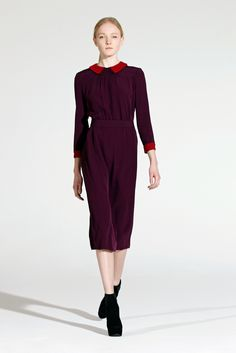 Victoria, Victoria Beckham Fall 2012 Ready-to-Wear