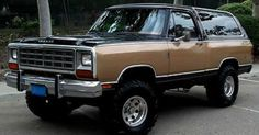 Dodge ramcharger and Dodge on Pinterest