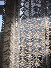Filet Crochet, Thread Crochet, Crochet Scarves, Crochet Motif, Crochet Shawl, Crochet Doilies, Crochet Lace, Crochet Home Decor, Crochet Crafts