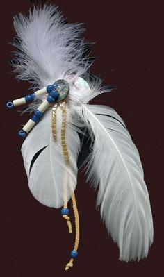 Hair Ornament Native American
