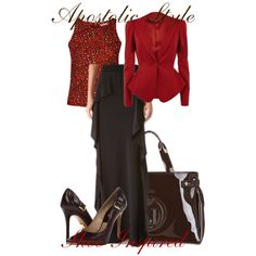 Shoe Inspired Series 2 Apostolic Style, created by emmyholloway on Polyvore