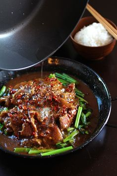 Sichuan Beef in Fiery Sauce - dang that's delicious