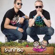 #DaTweekaz are the definition of #Happiness ! #SunriseFestival