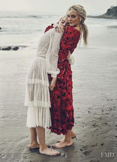 Blue Crush in Marie Claire USA with  - Fashion Editorial | Magazines | The FMD #lovefmd
