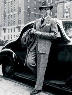 I wish men dressed like they did in the 1930s, suit and a hat #class > #swag