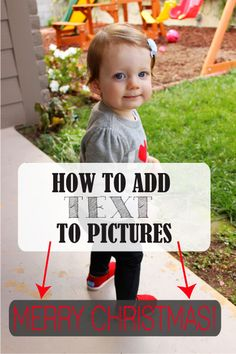 How to Add Text to Pictures - SohoSonnet Creative Living