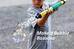 Make a Bubble Bazooka from a Water Shooter Tube