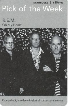 R.E.M.-Oh My Heart Code Expiration Date June 3, 2011