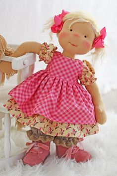 """Image of """"Emma's Playtime Outfit"""" fits most 17"""" - 19"""" dolls"""