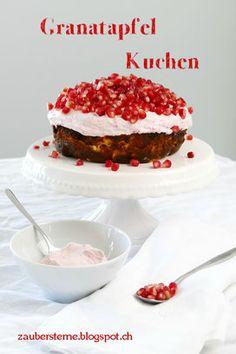 Granatapfelkuchen, Granatapfel Rezept, Foodblog Schweiz