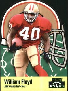 1996 Playoff Prime - X's and O's #36 William Floyd Front